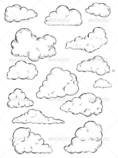 Clouds Sketch Drawing - Clouds Sketch With Images Cloud Drawing Sketch Cloud Cartoon Cloud Sketch Images Stock Photos Vectors Shutterstock How To Draw Clouds Step By Step Clo. Sketch Cloud, Cloud Drawing, Cloud Art, Wall Drawing, Clouds Draw, Cloud Illustration, Cartoon Clouds, Cloud Tattoo, Black Cartoon