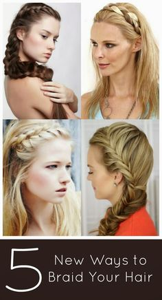 Plethora of Plaits - Five New Braid Ideas