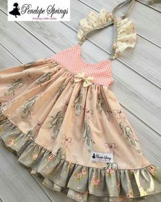 Tremendous Sewing Make Your Own Clothes Ideas. Prodigious Sewing Make Your Own Clothes Ideas. Baby Boy Dress, Dresses Kids Girl, Little Girl Outfits, Little Girl Dresses, Toddler Dress, Toddler Outfits, Kids Outfits, Baby Gown, Toddler Fashion