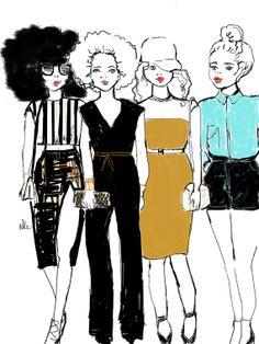 Girls Band par Nikisgroove sur Etsy