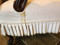 Sew Passionate: Slip Covered Chair