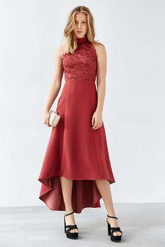 Keepsake All Talk Lace Dress