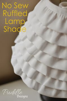 DIY Quick and Easy Lampshade Makeover