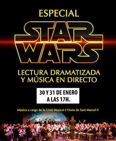 STAR WARS Episodio IV en el Teatro Flumen - http://www.valenciablog.com/star-wars-episodio-iv-en-el-teatro-flumen/