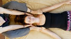 Relaxing Thai Massage for Neck, How to, Low Back Pain & Headaches Relief...