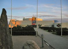 "Science center Heureka, winner of the 1988 ""Best concrete structure"" -award"