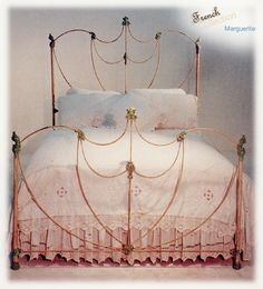 antique iron beds american iron bed company authentic antique cast iron bed frames - Cast Iron Bed Frame