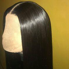 Silky! #hairfashion #wigfashion #wigslayed #onfleek #flk #wiginstall #hairgoals #fulllacewig #360wigs #africanamericanhair #fulllacewigs #beautifulhair #silktopwigs #humanhairwigs #hair #wig #lacewigs #lacefrontwigs #gluelesswig check http://ift.tt/1OQhNEc for more