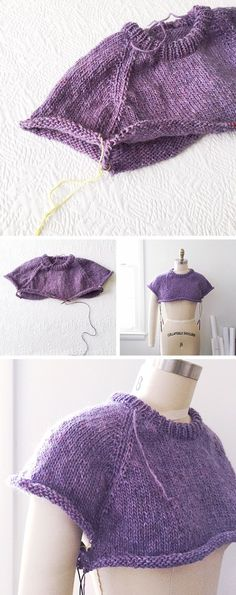 how to improvise a top-down sweater Archives - Fringe Association Knitting Basics, Knitting Stitches, Sweater Knitting Patterns, Cardigan Pattern, Raglan Pullover, Top Down, How To Purl Knit, Knit Fashion, Knit Crochet