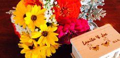 Flowers & wedding rings!
