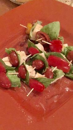 Bite size Caprese Salad