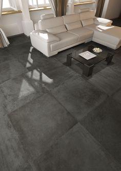 Pavimento tipo cemento in gres porcellanato formato 60x60 New ...