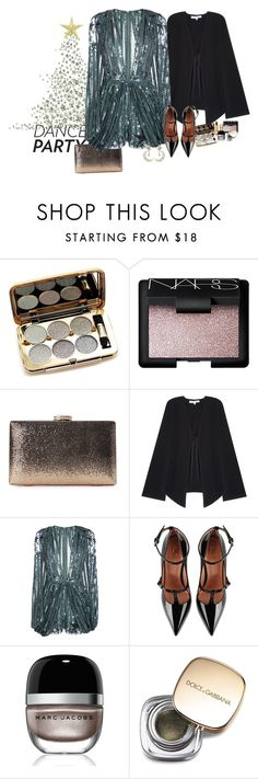 """""""Sparkle elegant dance party"""" by claire86-c on Polyvore featuring moda, NARS Cosmetics, Elizabeth and James, Elie Saab, RED Valentino, Marc Jacobs, Dolce&Gabbana e Diego Percossi Papi"""