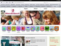 Www.waerdenborch.nl nieuwe website ontwerp en coördinatie