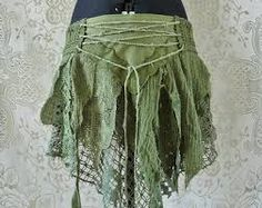 Image result for how to diy tutorial tattered fairy leather wrap skirt