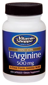 L-arginine: Helps regulate blood pressure, Reduces healing time for bone and other injuries, Quickens repair of damaged tissue, Improves cardiovascular health, Promotes healthy sexual performance, May aid in decreasing body fat, Maintains healthy blood sugar levels already in the normal range, Boosts energy levels