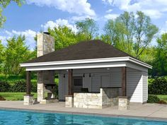 51 best Pool House Plans images on Pinterest | Houses with pools ...