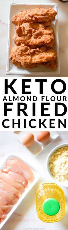 A low carb alternative to traditional fried chicken made with almond flour and avocado oil. ad