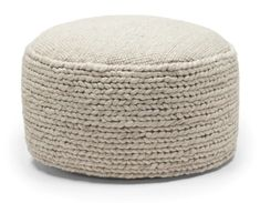 This friendly pouf is an oversized and versatile softie. Hira transitions from coffee table, to ottoman, to pouf with ease and despite its generous dimensions.