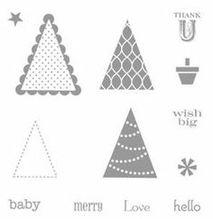 Pennant Parade Stamp Set - by Stampin' Up!