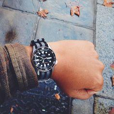 Time says #autumn ☔️ #seiko #skx013