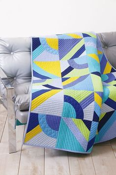 This would be a great QAYG project. Piece N Quilt: Cacophony - Custom Machine Quilting by Natalia Bonner
