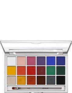 Coloring Vision Paleta 18 Colores   Kryolan - Professional Make-up