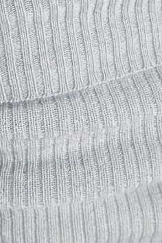 Eres - Futile Tentation Ribbed-knit Cashmere Leggings - Gray - 3