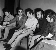 New wave: Claude Lelouch, Jean-Luc Godard, Francois Truffaut, Louis Malle & Roman Polanski