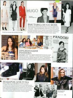 Kira Plastinina in Elle magazine, November 2013. Russia.