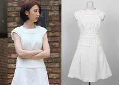 "Park Ha-Sun 박하선 in ""Temptation"" Episode 3.  Mine Dress #Kdrama #Temptation 유혹 #ParkHaSun"