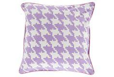 Irreplaceable 18x18 Pillow, Purple on OneKingsLane.com