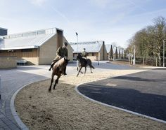 Scott Brownrigg's proposed £16 million stables for the King's Troop Royal Horse Artillery