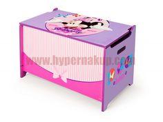 Detská drevená truhla Disney Minnie Mouse