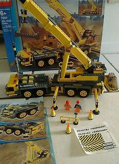 LEGO City XXL Mobile Crane (7249) EUC Complete Construction