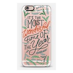 iPhone 6 Plus/6/5/5s/5c Case - WONDERFUL TIME (670 MXN) ❤ liked on Polyvore featuring accessories and tech accessories