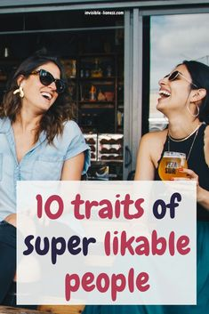 Wondering how to make people like you? You can learn how to be likeable! Check out these 10 qualities of super popular people and see how you can get there as well! Self Confidence Tips, Confidence Building, Personal Development Books, Popular People, Self Improvement Tips, How To Be Likeable, How To Better Yourself, How To Be Outgoing, People Like