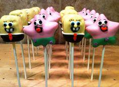 Sponge Bob & Patrick cake pops