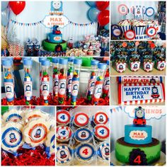 Thomas the Train Birthday Party Ideas | Photo 6 of 17