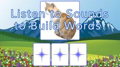 Fun segmenting and blending. I use this all the time for phonological awareness. Phonics Games, Phonological Awareness, Love Is Free, Guided Reading, Learn To Read, Free Apps, Learning, Words, Fun