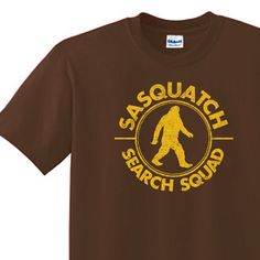 Bigfoot T-shirt printed on American apparel t shirts for $12.99 pshhh...cant beat that!  http://www.etsy.com/listing/118983357/sasquatch-t-shirt-all-sizes-american?