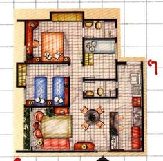 Is make one bathroom and open the kitchen up more but this is a great cabin plan