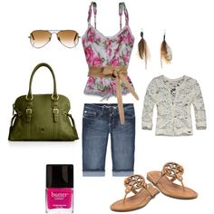 Summer Kissed.  Definitely an outfit I would wear