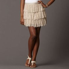 Lace Skirt by Fossil