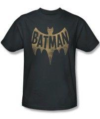 Batman TV Series Bat Logo T-Shirt – Dark Grey