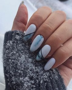 Need some ideas to spice up your white acrylic nails? We have over 35 white acrylic nail designs you're going to want for your own nails. Rounded Acrylic Nails, White Acrylic Nails, White Nails, Red Nails, Hair And Nails, Simple Nail Art Designs, Acrylic Nail Designs, Brittle Nails, Latest Nail Art