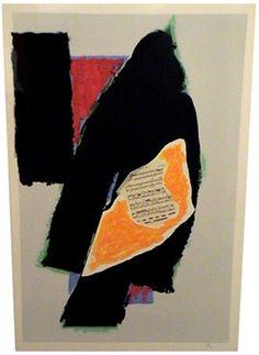 Black for Mozart, 1991 // Robert Motherwell