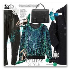"""Holiday Style: Leather Pants"" by svijetlana ❤ liked on Polyvore featuring Dodo Bar Or, Essie, Dollydagger, Valentino, women's clothing, women's fashion, women, female, woman and misses"