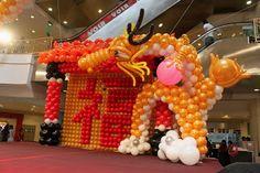 Xing Fu: MAJESTIC BALLOON DRAGONS