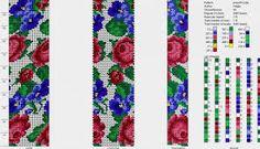 Картинки по запросу бисерные жгуты с цветами крючком